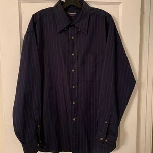 Vintage Tournament Arrow Button Down Sz L